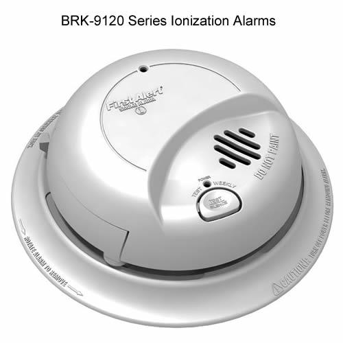 Ionization alarms